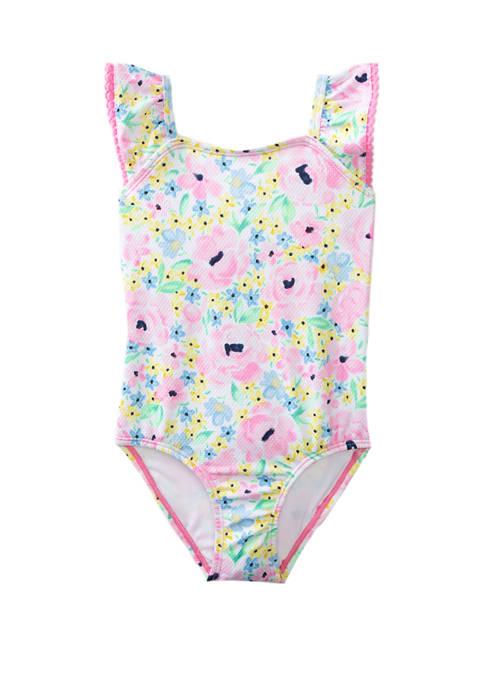 Crown & Ivy™ Toddler Girls Floral One Piece