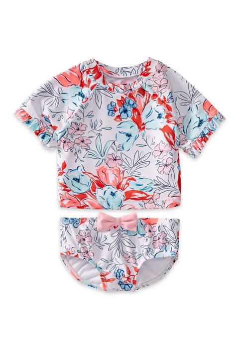 Crown & Ivy™ Toddler Girls Americana 2 Piece