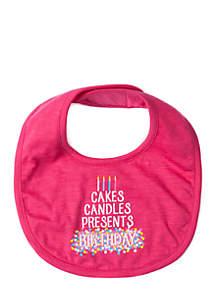 Infant Baby Birthday Bib