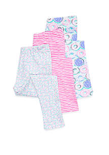 Toddler Girls 3-Pack Legging Set