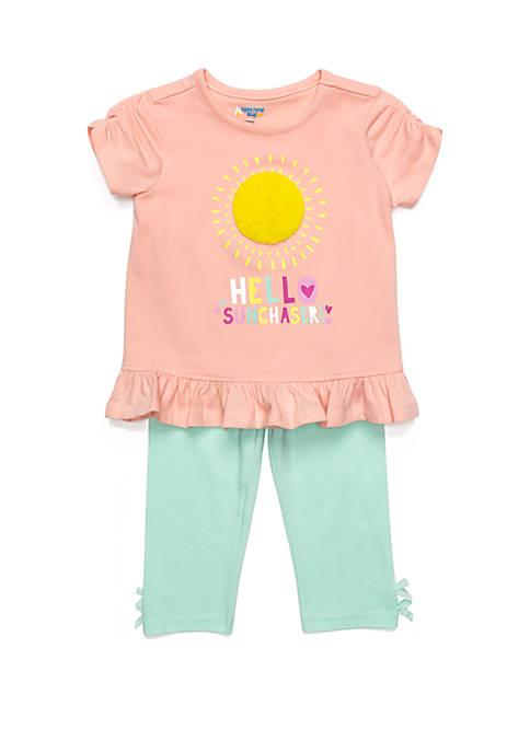 Baby Girls Tunic Capri Set