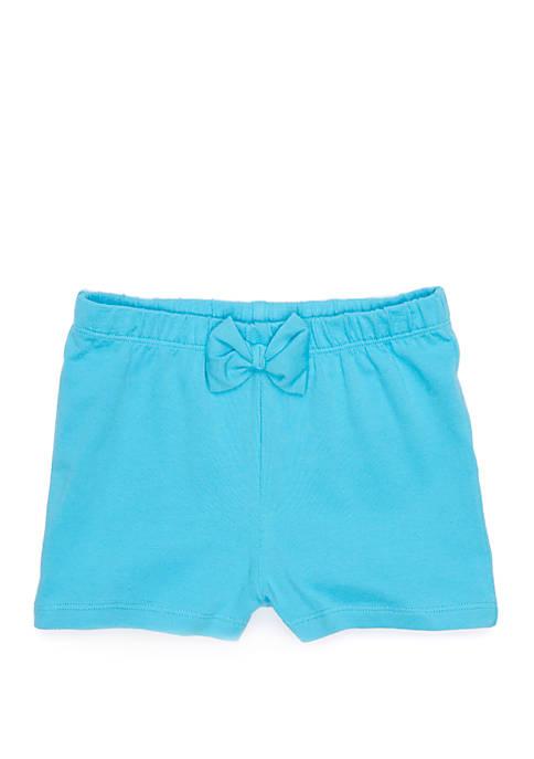 Baby Girls Bow Shorts