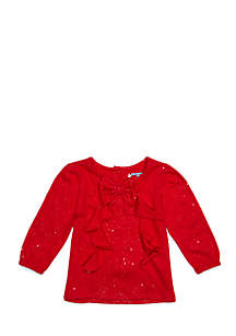 Baby Girls Bow Front Tunic