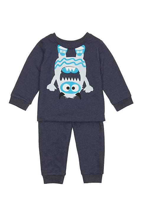 Lightning Bug 2-Piece Tee Monster Set