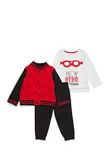 Baby Boys Bomber Jacket Set