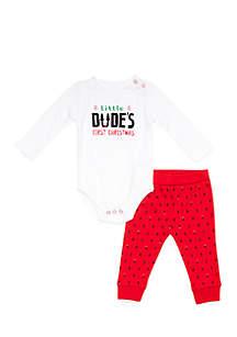 Infant Boys Bodysuit & Jogger Set