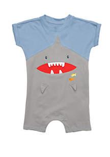 Lightning Bug Baby Boys Character Romper