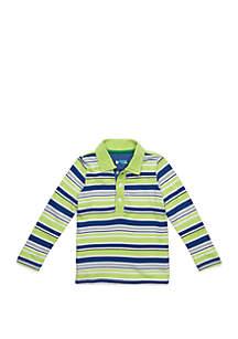Lightning Bug Baby Boys Long Sleeve Polo Shirt