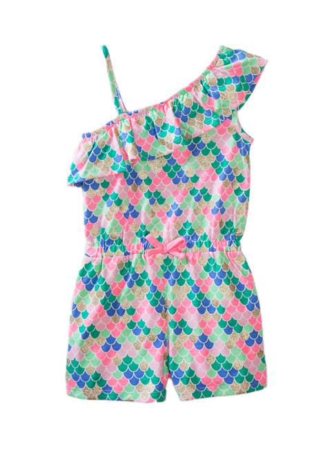 Toddler Girls Ruffle Romper
