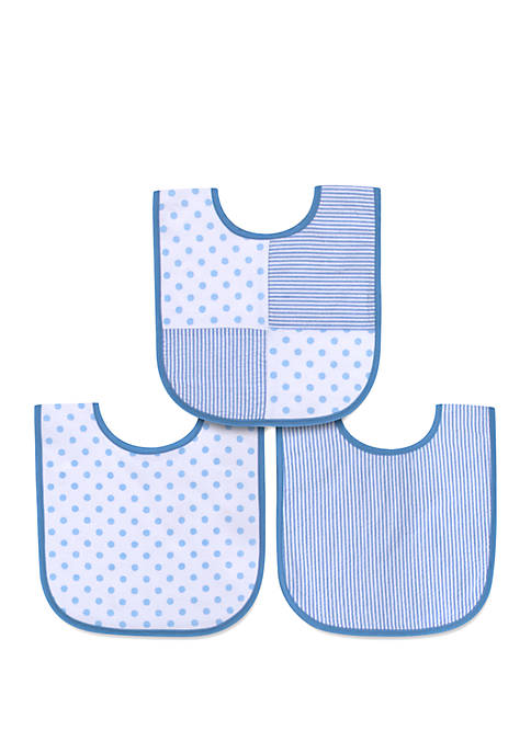 Crown & Ivy™ Baby Boys Polka Dot Seersucker