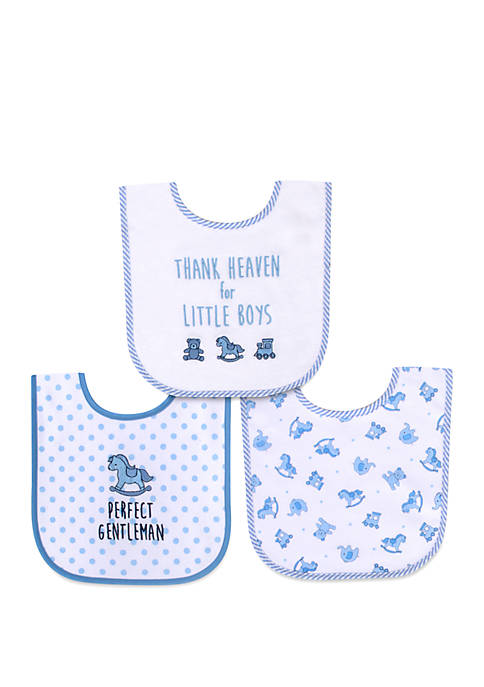 e921d3f9 Crown & Ivy™ Baby Boys Thank Heavens Bib