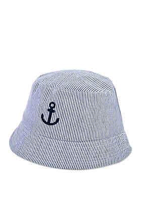 Crown   Ivy™ Baby Boys Seersucker Anchor Bucket Hat ... 6f8d2ec542a7