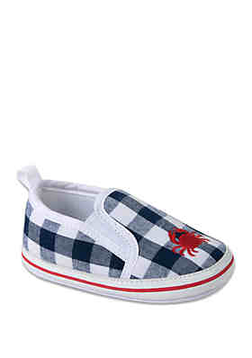 e066cc406742 Crown   Ivy™ Baby Boys Gingham Crab Shoes ...