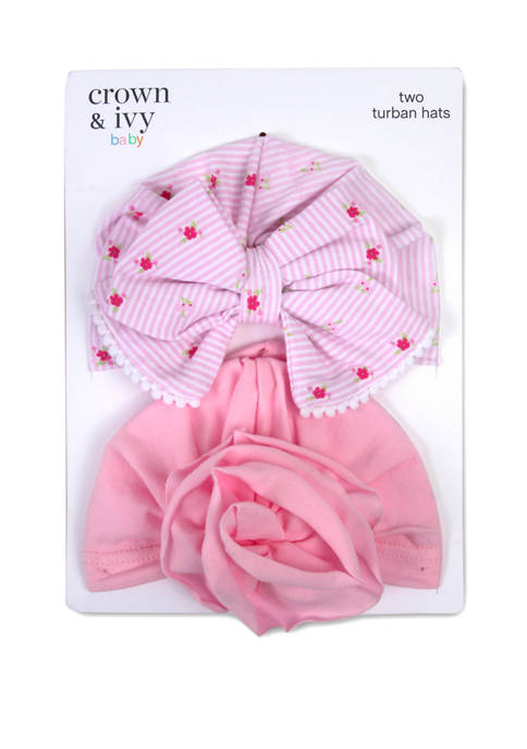 Crown & Ivy™ Baby Girls Set of 2