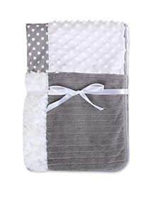 Gray Patchwork Blanket