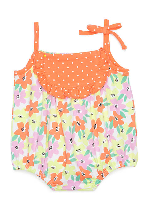 Crown & Ivy™ Infant Girls Floral Print Jersey