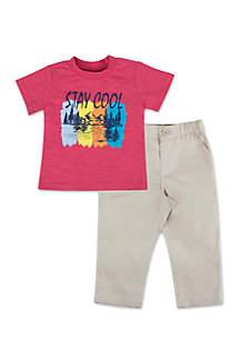 Infant Boys Stay Cool Set