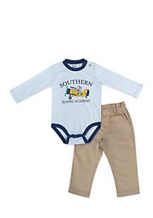 Infant Boys Southern Plane Set