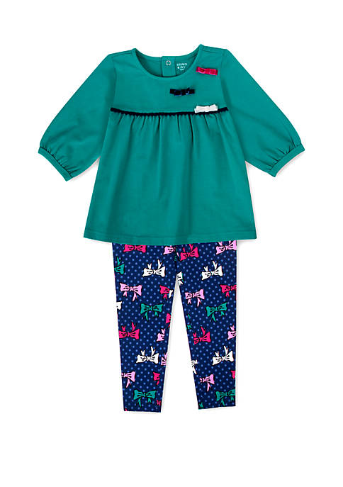 Crown & Ivy™ Toddler Girls Solid Top with