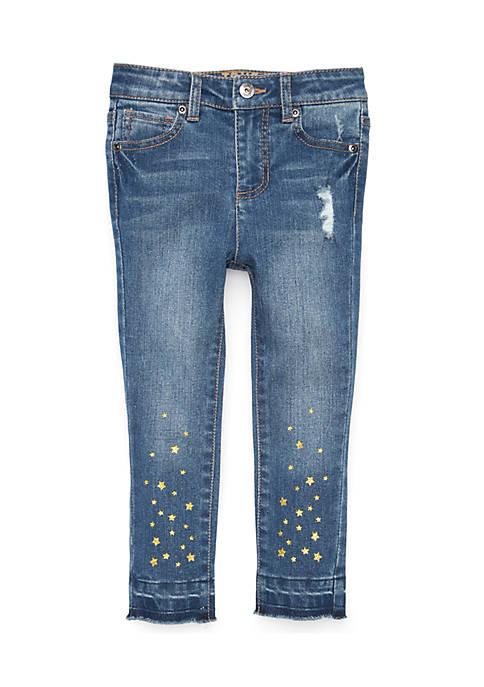 Girls 4-6x Star Denim jeans