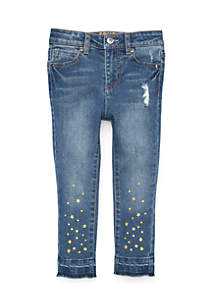 Girls 4-6x Star Denim jeans