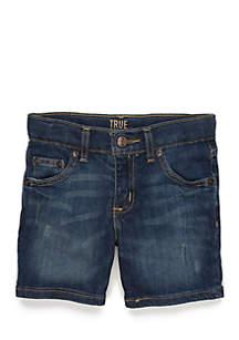 Toddler Boys Five-Pocket Denim Shorts