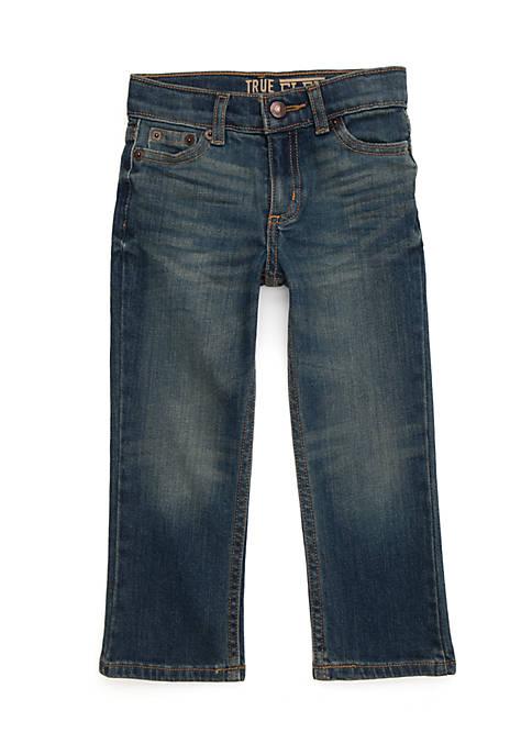 Toddler Boys Straight Leg Denim Jeans