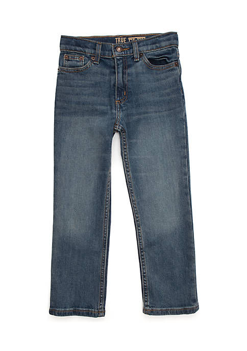 Toddler Boys 5-Pocket Straight Leg Denim
