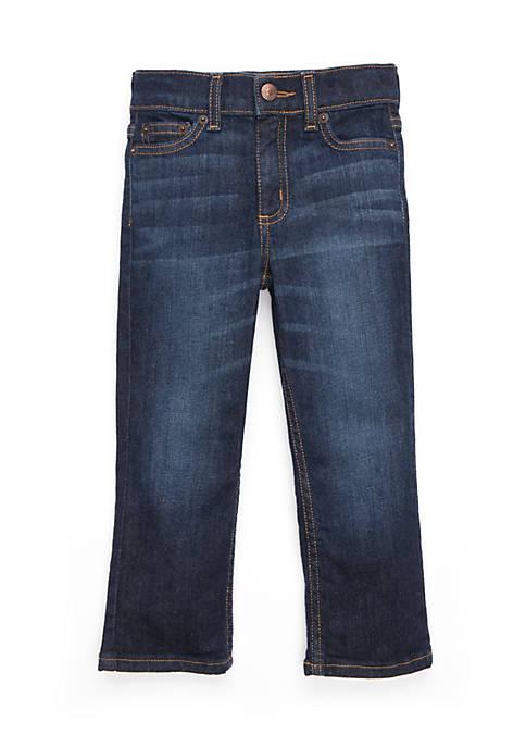 Boys 2-4 Straight Denim Dark Wash Jeans