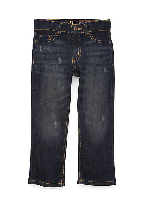 Boys 4-7 Straight Denim Jeans