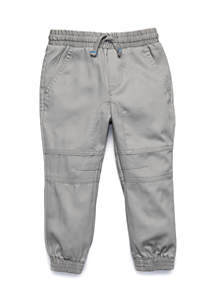 Toddler Boys Woven Panel Jogger Pants