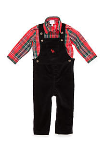 Infant Boys Overall Set