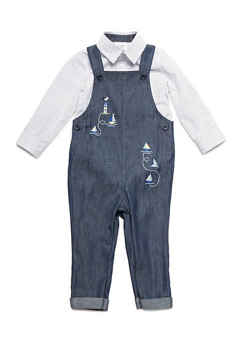 Baby Boys Overall Set