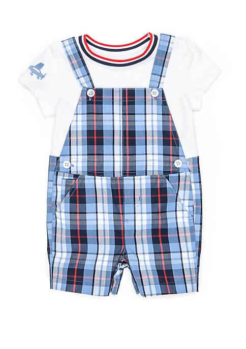 Baby Boys Tee and Overall Set