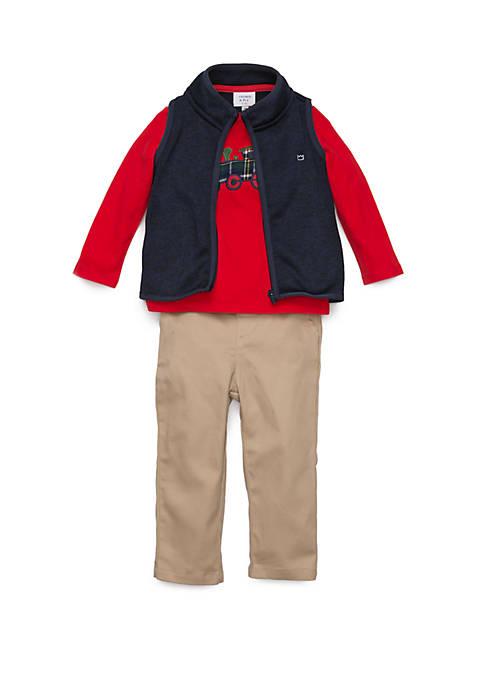 Crown & Ivy™ Baby Boys Sweater Fleece 3