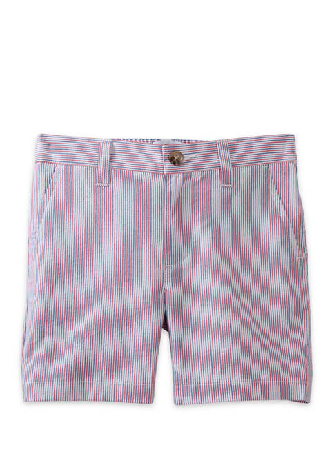 Crown & Ivy™ Toddler Boys Seersucker Shorts