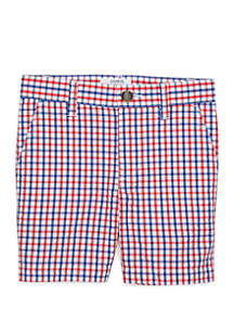 Crown & Ivy™ Toddler Boys Flat Front Shorts