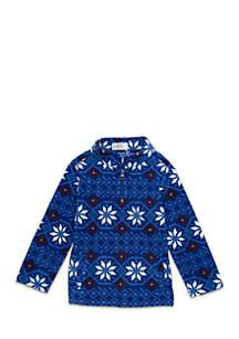 Crown & Ivy™ Toddler Boys 1/4 Zip Microfleece Jacket