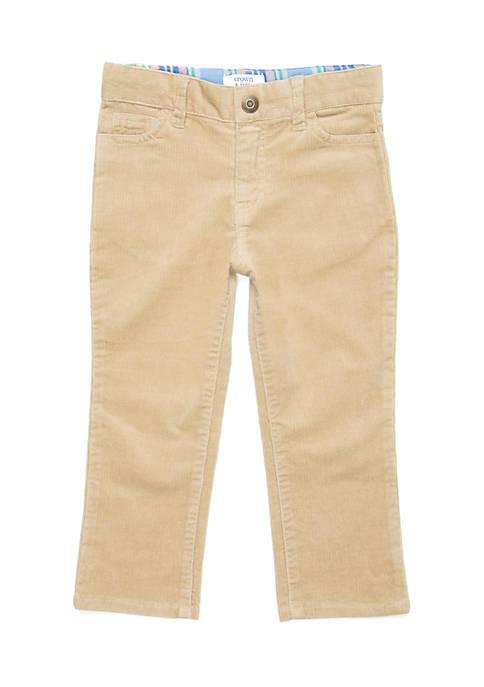 Crown & Ivy™ Toddler Boys Straight Leg 5-Pocket
