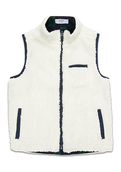 Toddler Boys Sherpa Vest