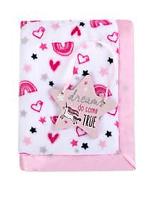 Baby Girls Dreams Come True Blanket