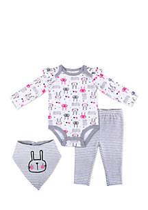 Baby Girls Creeper Set
