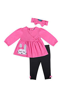Baby Girls Bunny Legging Set