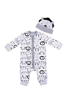Baby Boys Coverall Set