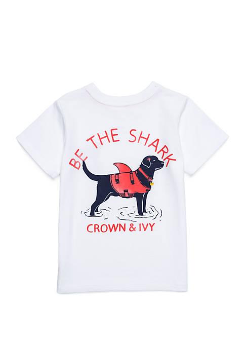 Crown & Ivy™ Toddler Boys Short Sleeve Tee