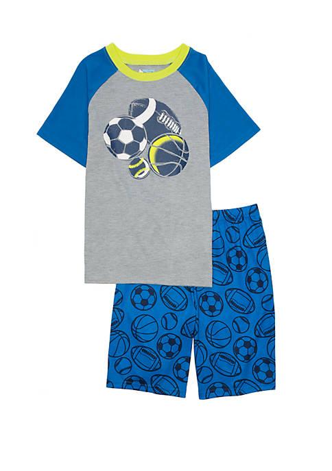Boys 4-20 2 Piece Pajama Set