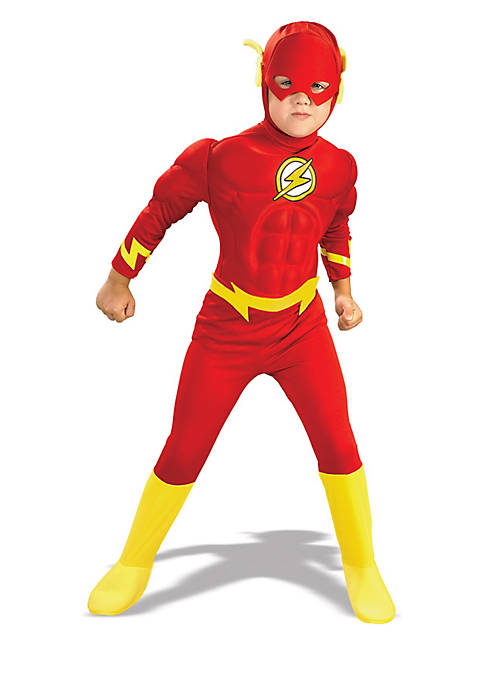 Rubie's Boys 4-7 DC Comics The Flash Muscle