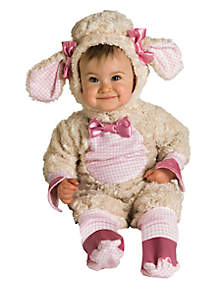 Rubie's Baby Girls Pink Lamb Infant Costume