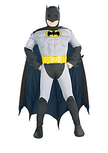 Rubie's Boys 4-7 Batman with Muscle Chest Costume
