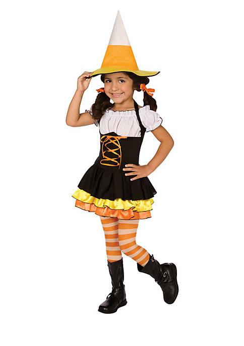 Rubie's Girls 4-6x Little Candy Corn Witch Costume